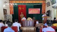 Đảng bộ xã Kim Liên, huyện Nam Đàn triển khai sinh hoạt Chi bộ mẫu theo quy định mới của Tỉnh ủy