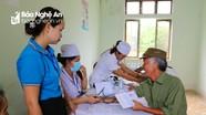 Hơn 300 người nghèo và chính sách Nghi Lộc được khám bệnh miễn phí