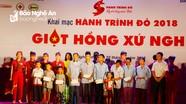 """Khai mạc Chương trình """"Hành trình đỏ - Kết nối dòng máu Việt"""""""