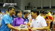 Khai mạc giải thể thao chào mừng Ngày thành lập Đảng bộ khối các cơ quan tỉnh
