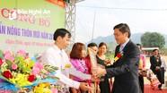 Xã Châu Tiến (Quỳ Châu) đón Bằng công nhận đạt chuẩn Quốc gia Nông thôn mới