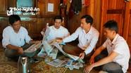 Tăng cường phối hợp đưa báo Đảng về thôn, bản ở huyện biên giới Quế Phong