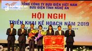 Bưu điện Nghệ An phấn đấu doanh thu năm 2019 đạt trên 581 tỷ đồng