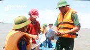 Nghệ An: Phạt 7 tàu cá vi phạm quy định khai thác, đánh bắt ven biển 35 triệu đồng