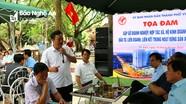 Thành phố Vinh tọa đàm với doanh nghiệp, hợp tác xã trên địa bàn