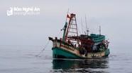 Nghệ An xử phạt 3 tàu cá ngoại tỉnh vi phạm vùng khai thác thủy sản
