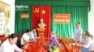 Báo Nghệ An kiểm tra tình hình thực hiện quy chế dân chủ cơ sở tại huyện Đô Lương