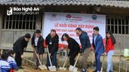 Khởi công xây dựng 2 phòng học bán trú cho học sinh xã Mường Lống (Kỳ Sơn)