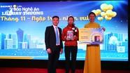 Bảo Việt Nhân thọ Bắc Nghệ An quay thưởng chương trình 'Tháng 11 – Ngập tràn niềm vui'