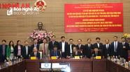 Ký biên bản ghi nhớ Dự án đầu tư 200 triệu USD sản xuất linh kiện điện tử tại KCN Hoàng Mai 1