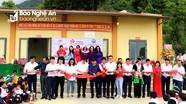 Khánh thành bàn giao phòng học tại Trường Tiểu học Mường Lống 2 (Kỳ Sơn)