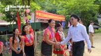 Phó Bí thư Tỉnh ủy Nguyễn Văn Thông dự khai giảng tại trường biên giới