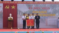 Xã Nghi Xuân (Nghi Lộc) đón nhận Cờ thi đua của Chính phủ