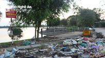 """Bãi rác """"bất đắc dĩ"""" vì người dân … tiện thể"""