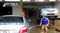 """""""Hốt bạc"""" từ dịch vụ rửa xe dịp Tết"""