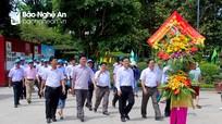 Huyện Anh Sơn dâng hương báo công tại Khu Di tích Kim Liên