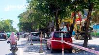 Bí thư Tỉnh ủy lưu ý việc cải tạo vỉa hè ở thành phố Vinh
