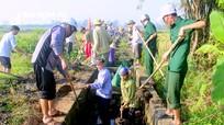 Thành phố Vinh ra quân làm thủy lợi, vệ sinh môi trường