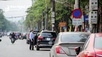 Thành phố Vinh đề xuất thu phí đỗ xe ở một số tuyến đường