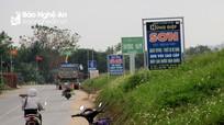 Nhiều tuyến đê ở Nghệ An bị xâm hại