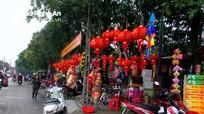Nghệ An: Lấn chiếm vỉa hè tràn lan dịp cận Tết