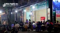 Có lệnh cấm, nhiều cơ sở kinh doanh tại TP. Vinh vẫn mở cửa đón khách trong đêm 27/3