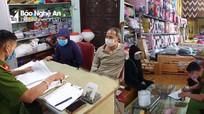 2 chủ cửa hàng ở Nghệ An bị phạt nặng do cố tình trái lệnh tạm đóng cửa