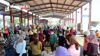 Nghệ An: Hải sản tiếp tục giảm giá mạnh vì dịch Covid- 19