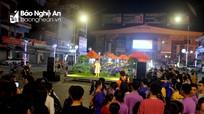 Phố đêm Cao Thắng (TP Vinh) chính thức hoạt động trở lại