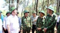 Cháy rừng tại Nghệ An: Lửa đã được dập, Chủ tịch UBND tỉnh chỉ đạo túc trực phòng bùng phát trở lại