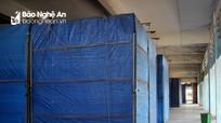 Hàng trăm ki ốt chợ Vinh, chợ Ga vẫn đóng cửa im lìm sau dịch Covid-19