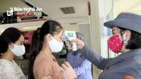 Nghệ An: Hành khách phải đeo khẩu trang, đo thân nhiệt khi lên xuống tàu xe