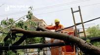 Thành phố Vinh tập trung khắc phục hậu quả của bão số 5