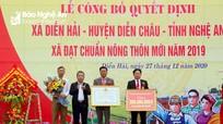 Xã Diễn Hải (Diễn Châu) đón Bằng công nhận đạt chuẩn Nông thôn mới