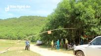 Nghệ An: Lập chốt kiểm soát tại cửa rừng để chống cháy