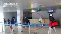 Đã truy vết 71 hành khách về Nghệ An đi cùng chuyến bay với 2 ca dương tính ở Hà Tĩnh