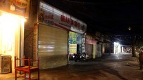 TP.Vinh: Phố bia vắng tanh khi các hàng quán chấp hành lệnh đóng cửa