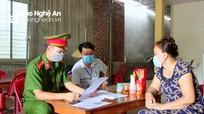 Nghệ An: Thêm quán ăn sáng bị xử phạt vì mở cửa phục vụ khách tại chỗ