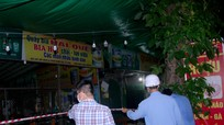Thành phố Vinh phong tỏa hàng loạt quán bia hơi tại hồ Goong