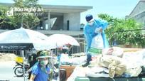 Nghệ An: Căng mình tiếp sức cho lực lượng trực chốt trong nắng nóng