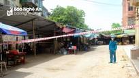 Phong tỏa tạm thời chợ Quang Trung, lấy mẫu xét nghiệm cho toàn bộ tiểu thương