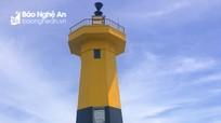 Ngọn hải đăng tại vùng biển Cửa Lò chính thức hoạt động trở lại