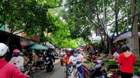 TP.Vinh: Nhiều khu chợ không có lực lượng kiểm soát người ra vào