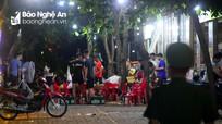 TP.Vinh: Phớt lờ quy định, hàng loạt hàng quán vẫn hoạt động sau 22 giờ đêm