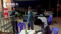TP. Vinh xử phạt công dân đi từ TP. Hồ Chí Minh về không khai báo y tế