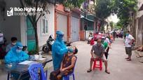 Sáng 15/8, Nghệ An ghi nhận thêm 5 trường hợp nhiễm Covid-19 mới