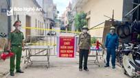 Phong tỏa 27 hộ dân phường Hồng Sơn liên quan đến ca nhiễm Covid - 19 mới