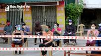 Phong tỏa tạm thời, lấy mẫu toàn bộ tiểu thương chợ Quang Trung (TP. Vinh)