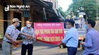 TP. Vinh phong tỏa tạm thời chợ Bến Thủy và chợ Quyết