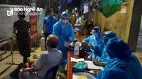 Phong tỏa 21 hộ dân phường Trường Thi liên quan đến 2 ca nhiễm Covid - 19 mới